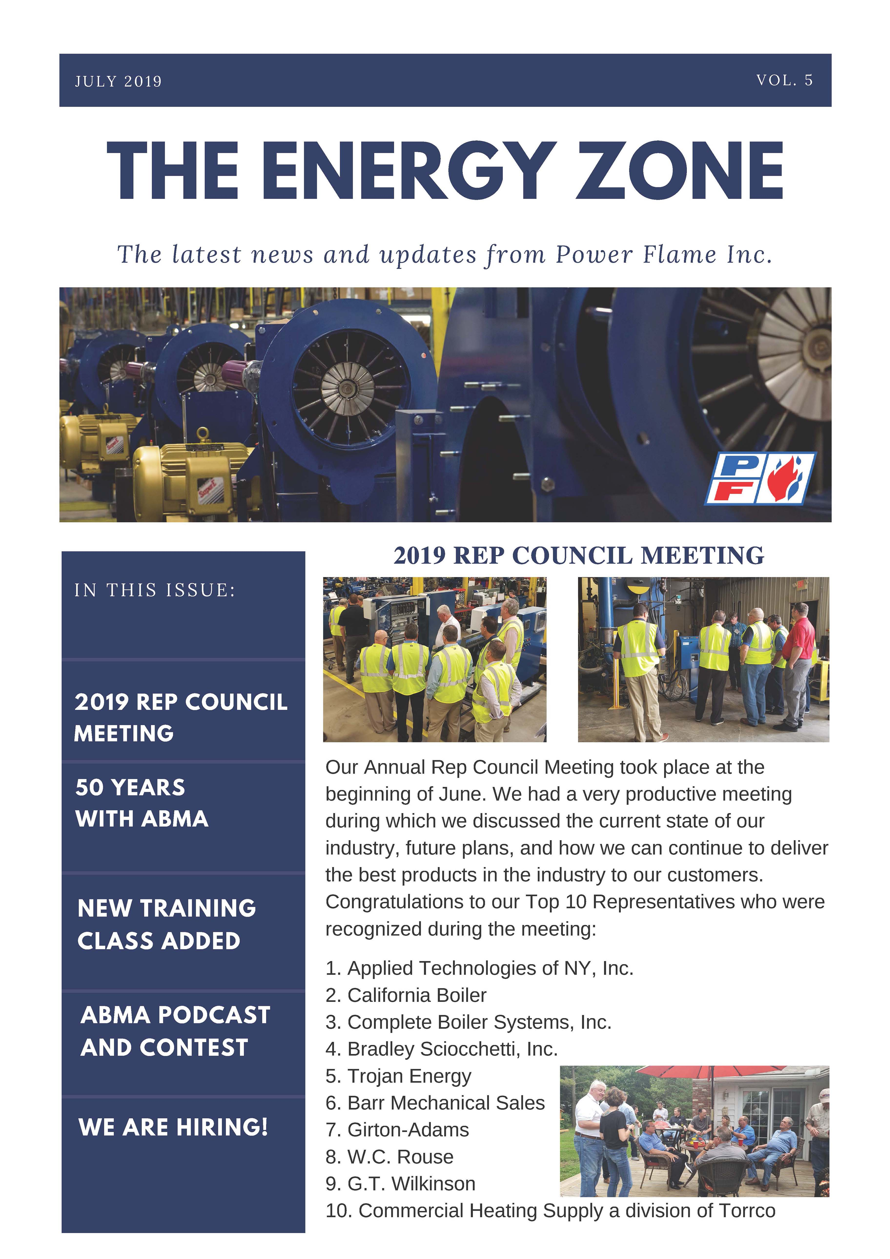 2Q19 July Newsletter Front Page